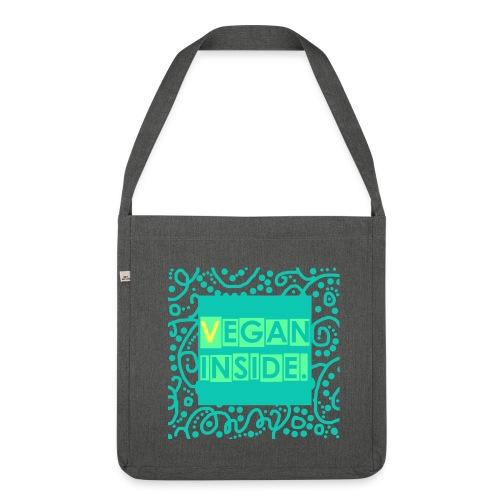 VEGAN INSIDE. - Schultertasche aus Recycling-Material