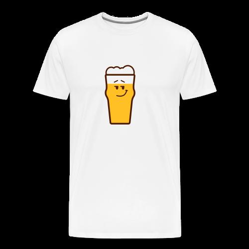 beermoticon shirt cool - Men's Premium T-Shirt