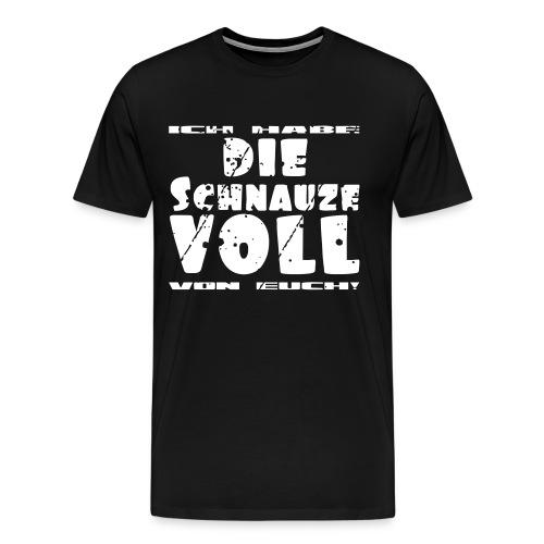 Schnauze Voll Shirt - Männer Premium T-Shirt