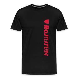 T-shirt herr Logga sida - Premium-T-shirt herr