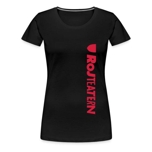 T-shirt dam Logga sida