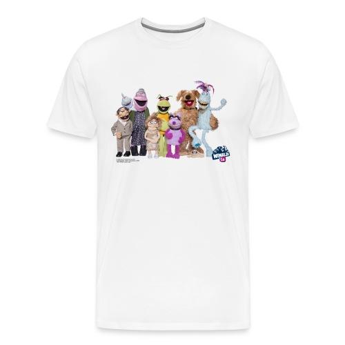T-Shirt - Wiwaldi & Co. - Männer Premium T-Shirt