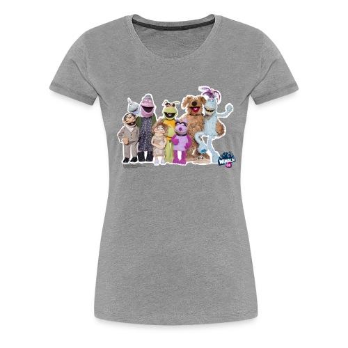 Frauenshirt - Wiwaldi & Co. - Frauen Premium T-Shirt