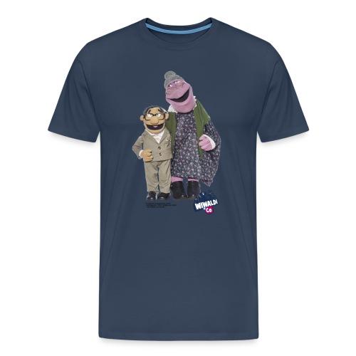 T-Shirt - Omi&Opi Flönz - Männer Premium T-Shirt