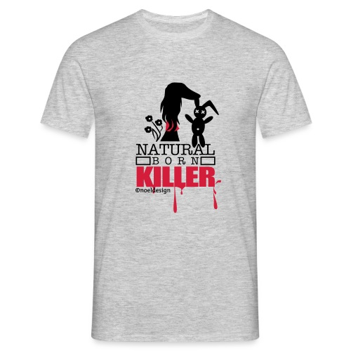 Natural Born Killer Saluki - Männer T-Shirt