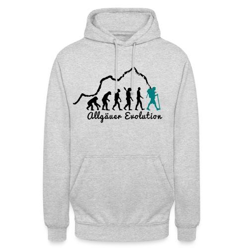 Kapuzenpulli  Allgäuer Evolution - Unisex Hoodie
