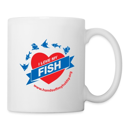 I love my fish mug - Mug