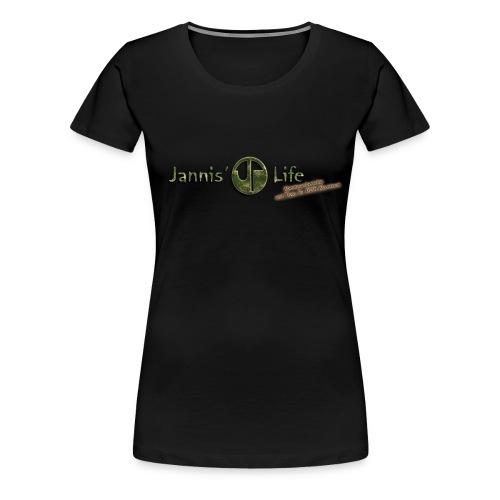 T-Shirt Rundausschnitt - Frauen Premium T-Shirt