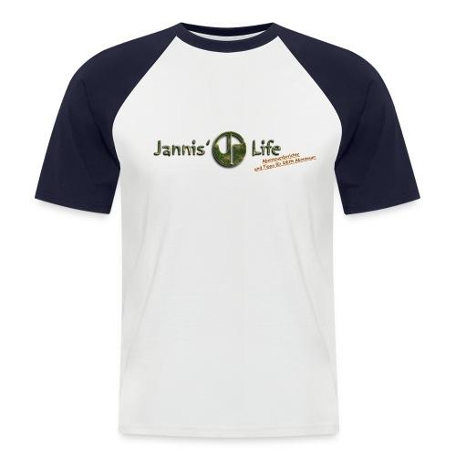 T-Shirt - Männer Baseball-T-Shirt