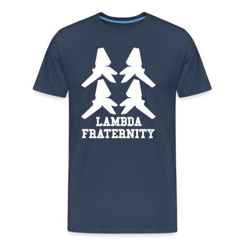 LAMBDA Fraternity - Maglietta Premium da uomo