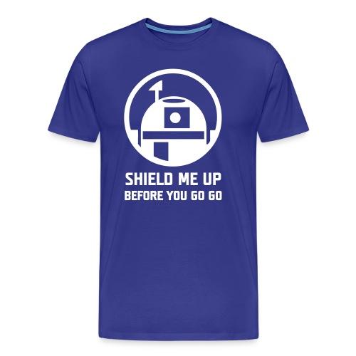 Shield Me Up Before You Go Go - Maglietta Premium da uomo
