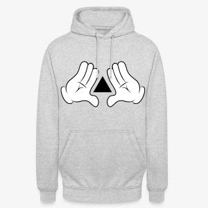 Disney Triangle (M) (B) - Hoodie unisex