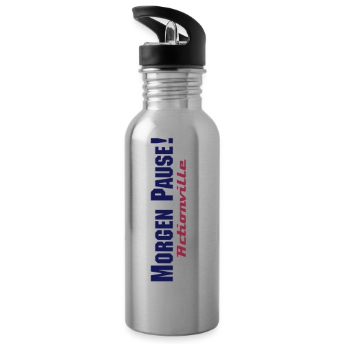 Morgen Pause! - brushed Bottle - Trinkflasche