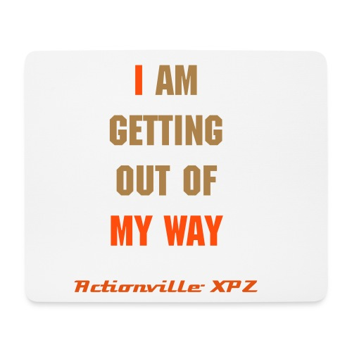 I am getting...-Mousepad - Mousepad (Querformat)
