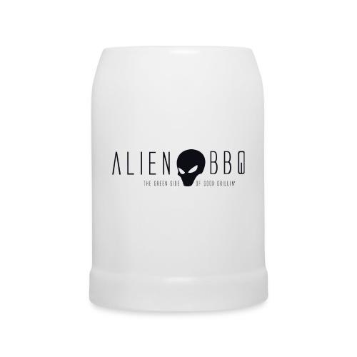 ALIEN-BBQ Bierkrug mit Logo - Bierkrug