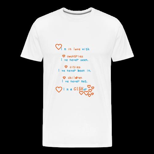 Men's Premium T-Shirt I'm a CISVer - Männer Premium T-Shirt