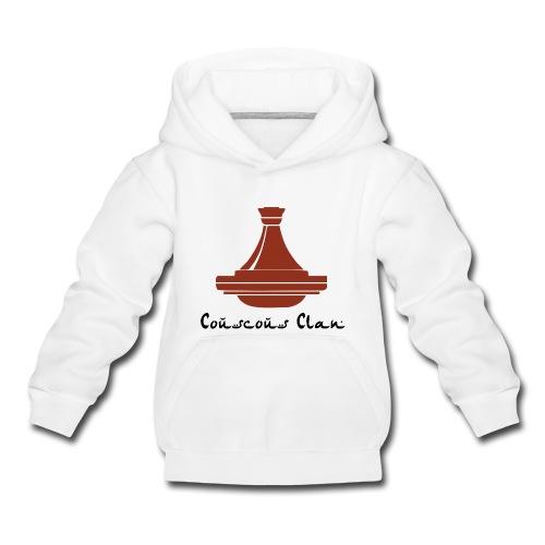 Sweat Shirt Couscous Clan - Pull à capuche Premium Enfant