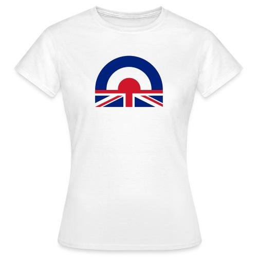 British Mod Ladies T-shirt - Women's T-Shirt