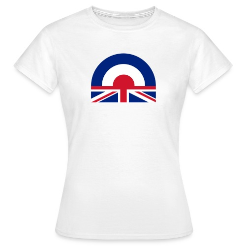British Mod Ladies T-shirt - Women's T-Shirt