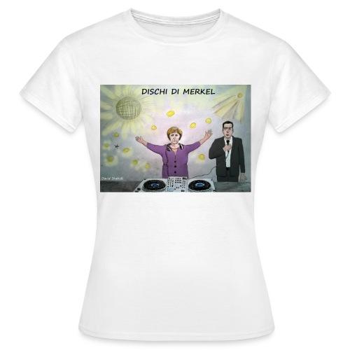 T-Shirt DISCHI DI MERKEL - Maglietta da donna