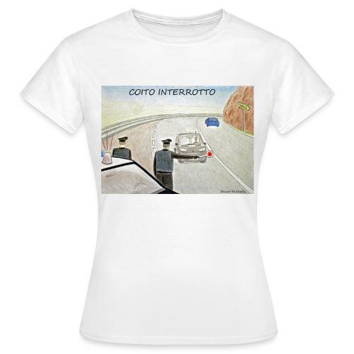 T-Shirt COITO INTERROTTO - Maglietta da donna