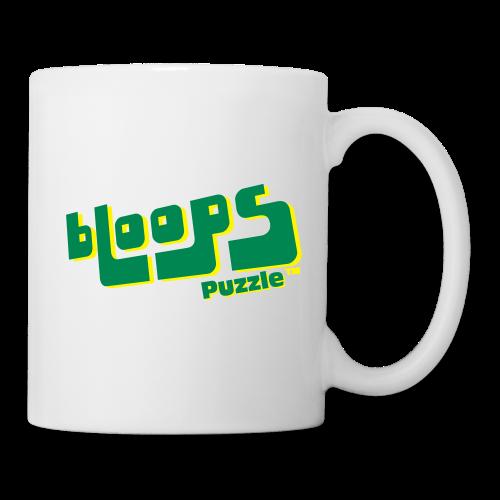 Ceramic Mug bLoops Puzzle (printed green shadowed) - Mug