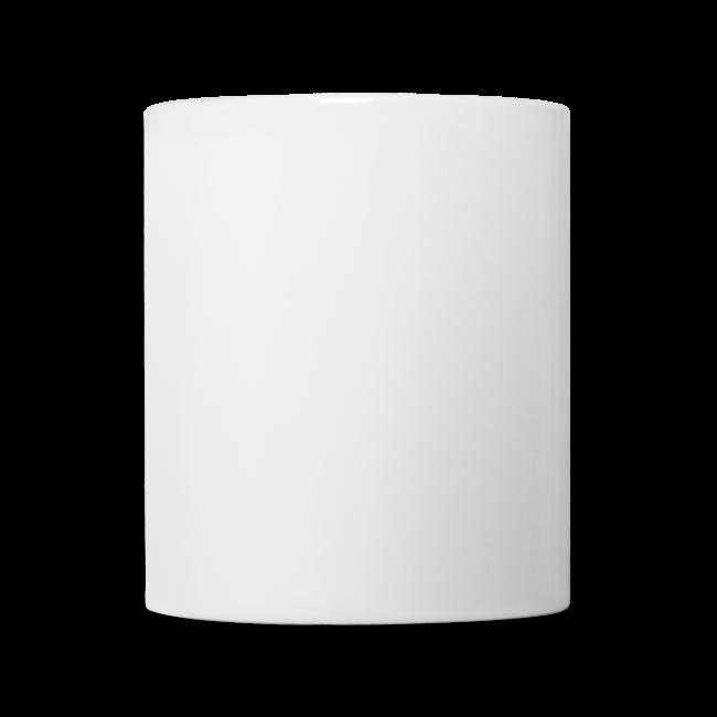 """Ceramic Mug """"bLoops Puzzle"""" (printed black shadowed)"""