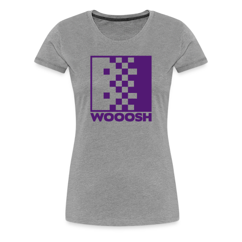 WOOOSH F - 11 COULEURS DISPO - T-shirt Premium Femme