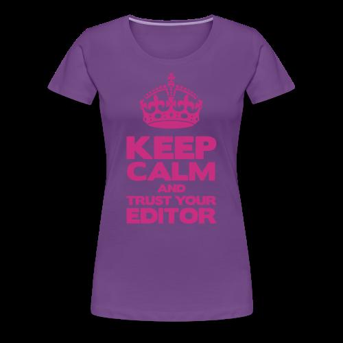 KEEP F - 11 COULEURS DISPO - T-shirt Premium Femme