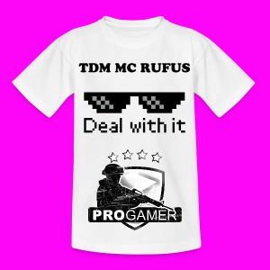 EPICLY customised TDM MINECRAFT RUFUS t-shirt - Kids' T-Shirt