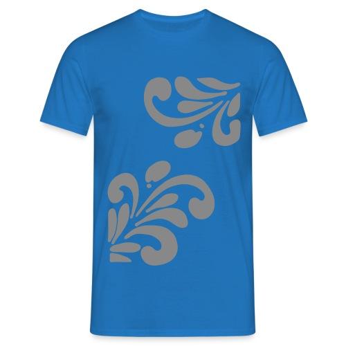 Silber Glitzer Bembel - Männer T-Shirt