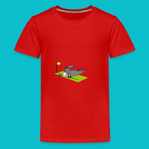 l'âne catalan - T-shirt Premium Ado