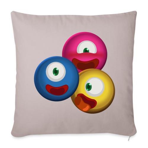 Sofa pillow cover 44 x 44 cm - Video game. Jeux,bio,biologie,biology,jeux video,science