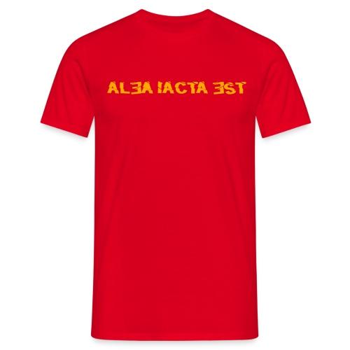 ALEA IACTA EST - Männer T-Shirt - Männer T-Shirt