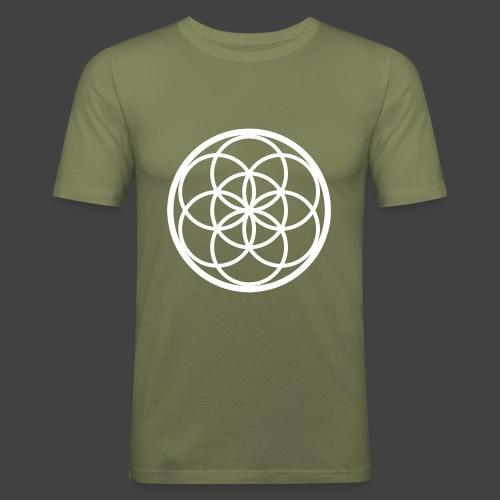 Flower of Life - Camiseta ajustada hombre