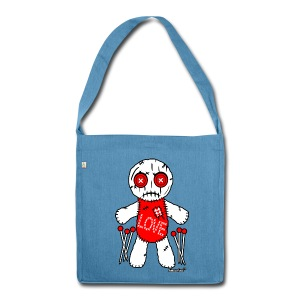 Voodoo Love Doll - Schultertasche aus Recycling-Material