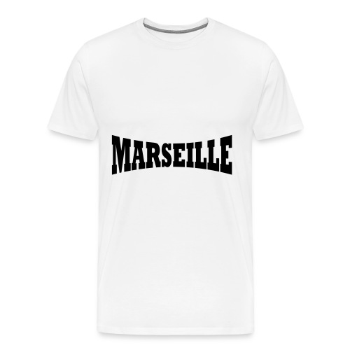 tee shirt WEED marseille - T-shirt Premium Homme