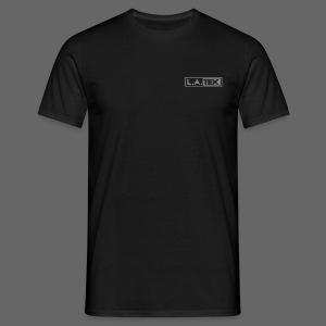 T-Shirt L.A.TEX silver  - Männer T-Shirt