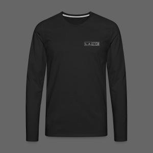 Longsleeve L.A.TEX silver - Männer Premium Langarmshirt