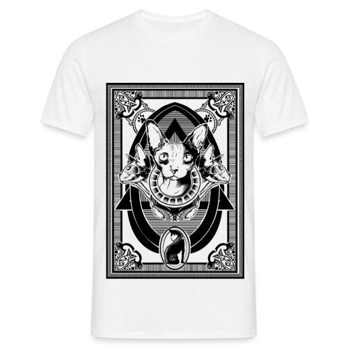 Sphynx - Männer T-Shirt