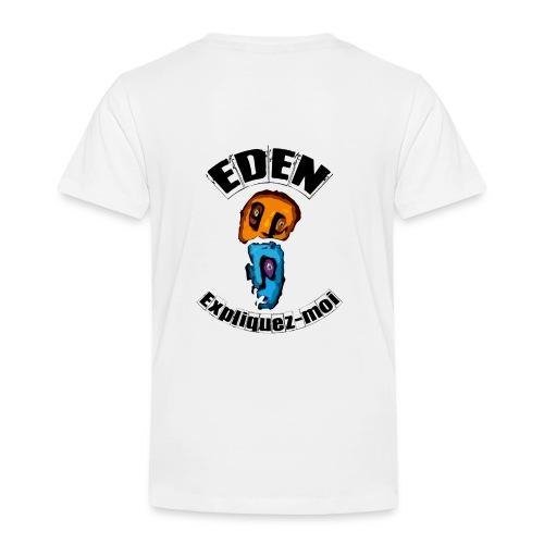 DEUX TETES- EXPLIQUEZ-moi - GRIS - T-shirt Premium Enfant