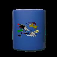 Bouteilles et Tasses ~ Tasse en couleur ~ Numéro de l'article 103923869