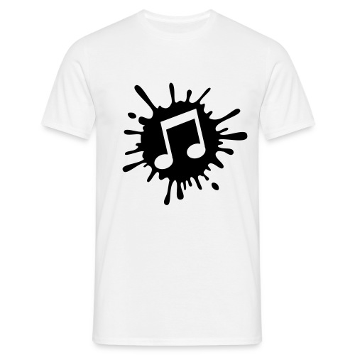 Music Splash Shirt - Men's T-Shirt