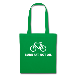 Burn fat, not oil  Stofftasche - Stoffbeutel