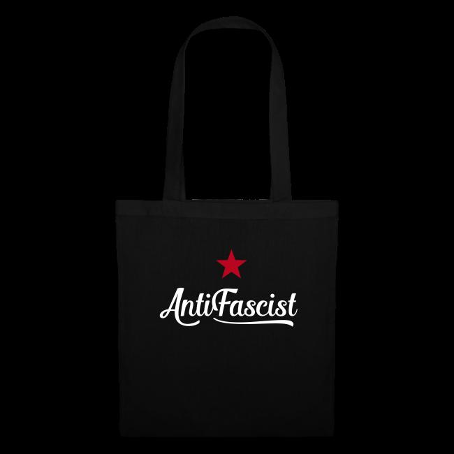 AntiFascist  Stofftasche