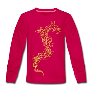 Serpent - Teenager Premium shirt met lange mouwen