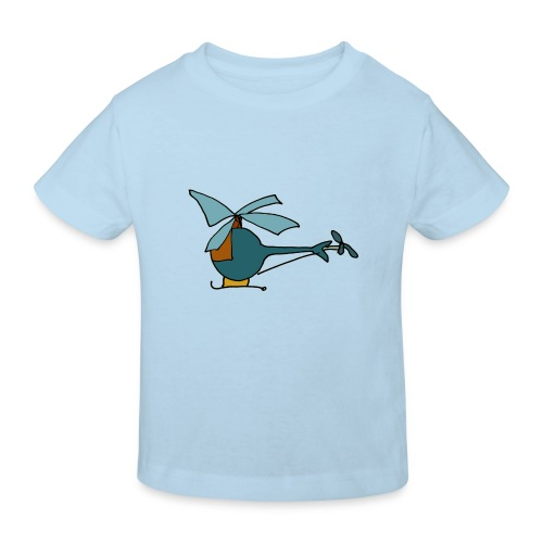 Kinder-bio-T-Shirt *Hubschrauber* - Kinder Bio-T-Shirt