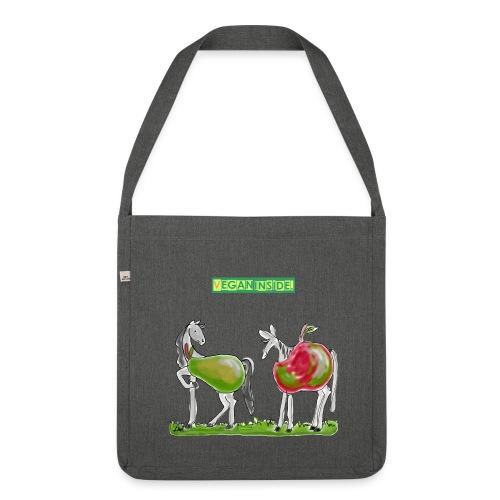 VEGAN INSIDE. BAG  - Schultertasche aus Recycling-Material