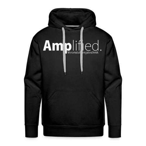 Kapuzen Pullover schwarz - Männer Premium Hoodie