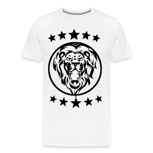 Gym shirt lion - Mannen Premium T-shirt